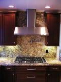 Parte superior do cozinheiro foto de stock