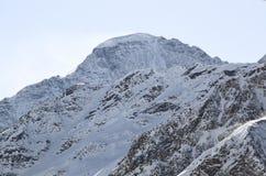 A parte superior do cume caucasiano principal Nakra Imagem de Stock