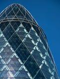 A parte superior do edifício do pepino Foto de Stock Royalty Free