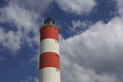 Parte superior do farol da torre Imagem de Stock