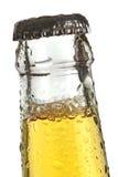 Parte superior do frasco de cerveja Fotografia de Stock Royalty Free