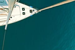 Parte superior do iate do mastro Imagens de Stock
