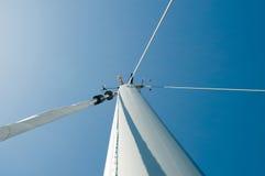 Parte superior do mastro Fotografia de Stock Royalty Free