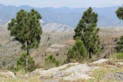 Parte superior do monte de Sarban em Paquistão imagens de stock royalty free