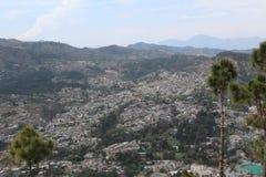 Parte superior do monte de Sarban em Paquistão fotos de stock royalty free