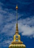 A parte superior do pagoda. Imagens de Stock Royalty Free
