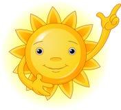 Parte superior do ponto de Sun Imagens de Stock Royalty Free