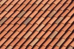 Parte superior do telhado fotografia de stock