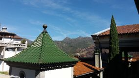 Parte superior do telhado do santuário Foto de Stock