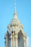 Parte superior do templo de Tailândia Fotos de Stock