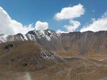 Parte superior do vulcão Imagens de Stock