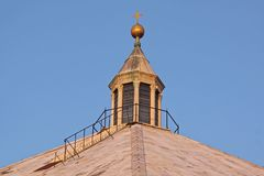 Parte superior Florença da igreja imagem de stock