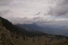 Parte superior Tahtali da montanha da sela Imagens de Stock