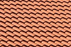 Parte superior telhada do telhado Imagem de Stock