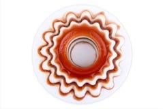 Parte superiore del deserto della gelatina fotografia stock libera da diritti