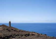 Parte superiore del faro Faro de Orchilla Fotografia Stock Libera da Diritti