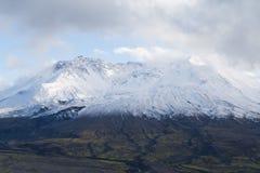 Parte superiore del ghiacciaio del san di supporto Helens Fotografia Stock