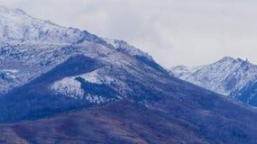 Parte superiore dell'alta montagna Fotografie Stock