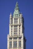 Parte superiore dell'edificio di Woolworth Immagine Stock Libera da Diritti