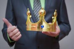 Parte superiore dell'oro coronation Fotografia Stock Libera da Diritti