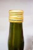 Parte superiore della bottiglia Immagini Stock