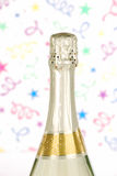 Parte superiore della bottiglia di Champagne Immagine Stock Libera da Diritti