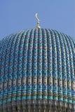 Parte superiore della cupola coperta di tegoli Fotografie Stock