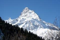 Parte superiore della montagna Fotografia Stock Libera da Diritti