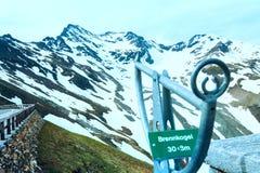 Parte superiore della montagna di Grossglockner Immagine Stock Libera da Diritti