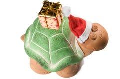 Parte superiore della tartaruga di natale Immagine Stock Libera da Diritti