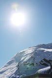 Parte superiore delle alpi Immagine Stock Libera da Diritti