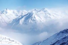 Parte superiore delle alpi Immagini Stock Libere da Diritti