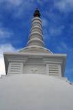 Parte superiore dello stupa buddista Fotografia Stock