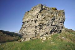 Parte superiore di Castle Rock immagini stock libere da diritti