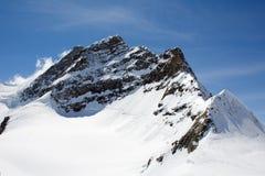 Parte superiore di Jungfrau Fotografie Stock