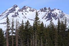 Parte superiore rotta, cascate centrali dell'Oregon Fotografie Stock