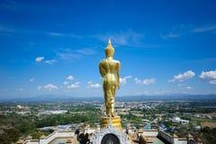 A parte traseira da Buda imagem de stock royalty free