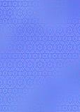 Parte traseira da estrela azul Foto de Stock
