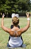 Parte traseira da mulher Fotografia de Stock Royalty Free