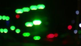 Parte traseira do flash da luz do alargamento da lente video estoque