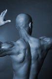 Parte traseira do homem calvo Foto de Stock