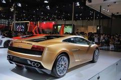 A parte traseira do Lamborghini Fotografia de Stock