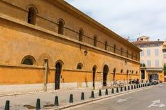 Parte traseira do tribunal de recurso em Aix-en-Provence Foto de Stock Royalty Free