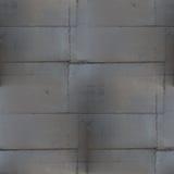 Parte traseira sem emenda da oxidação preta do marrom do grunge do teste padrão da emenda da soldadura do metal Imagem de Stock