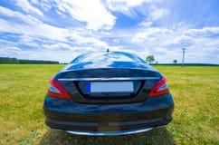 Parte trasera de los cls de Mercedes Imagen de archivo libre de regalías