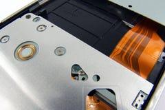 Parte trasera del dvdrom de la computadora portátil Fotografía de archivo
