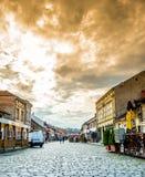 Parte velha da cidade Fotografia de Stock