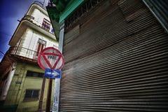 Parte velha de Havana Imagens de Stock Royalty Free