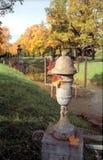 Parte velha do parque do outono Imagem de Stock Royalty Free