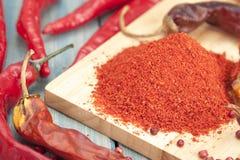 Parte vermelha da pimenta Fotos de Stock Royalty Free